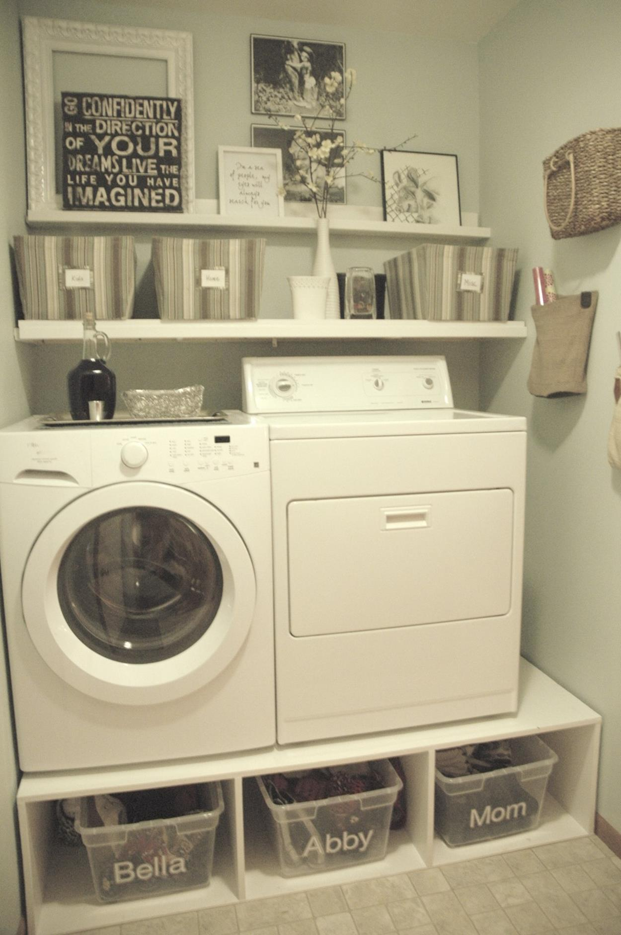 Diy Small Laundry Room Makeovers On A Budget 10