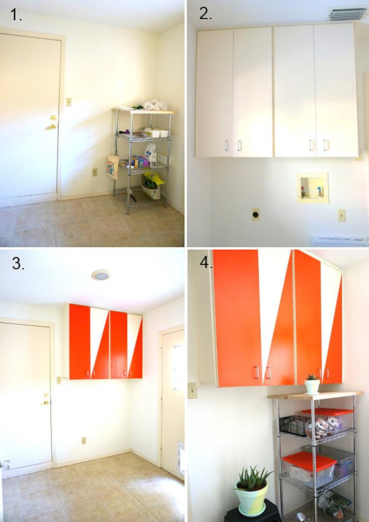 DIY Small Laundry Room Makeovers On a Budget 15