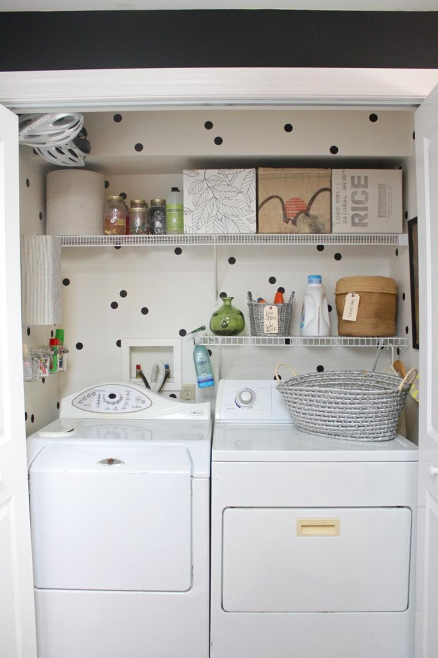 DIY Small Laundry Room Makeovers On a Budget 24