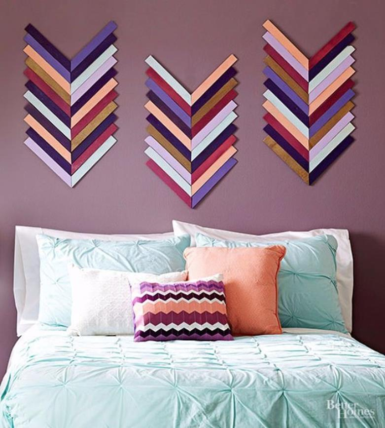 Perfect Bedroom Decorating Idea for Craft 10