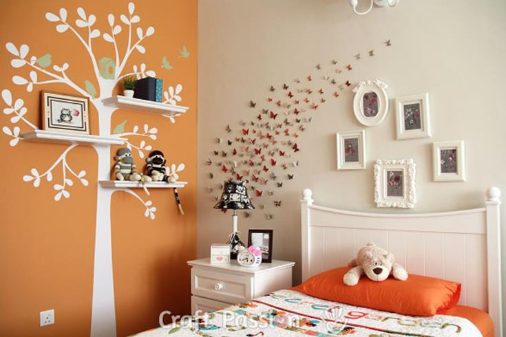 Perfect Bedroom Decorating Idea for Craft 29