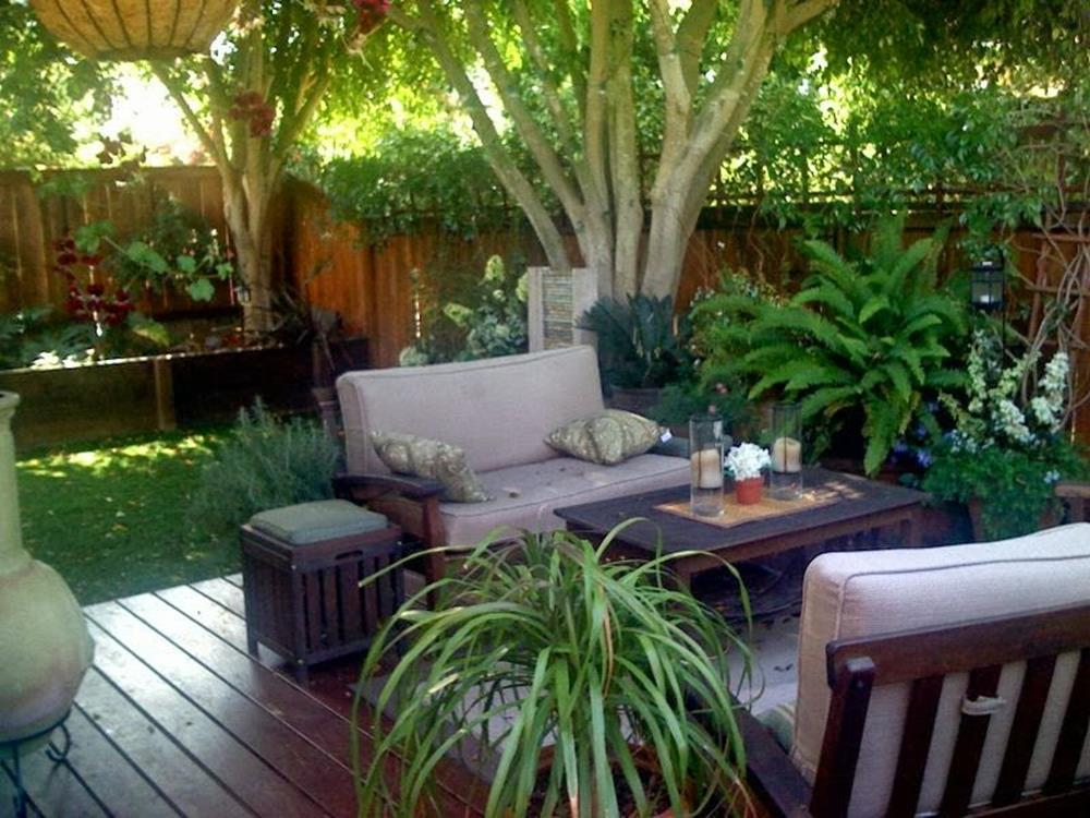 Perfect Small Outdoor Spaces Design Ideas 19