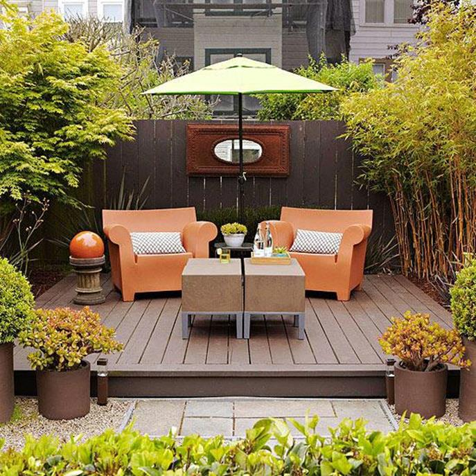 Perfect Small Outdoor Spaces Design Ideas 45