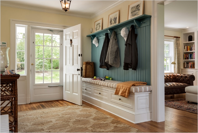 39 Stunning Farmhouse Hallway Decorating Ideas 83 Cottage Traditional Entry New York by Crisp Architects 9