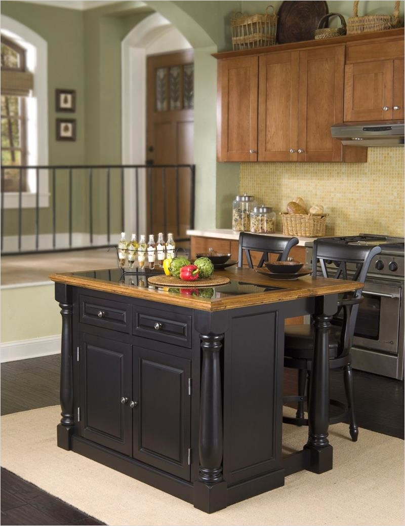 44 Perfect Ideas Small Kitchen Designs with islands 44 51 Awesome Small Kitchen with island Designs 3