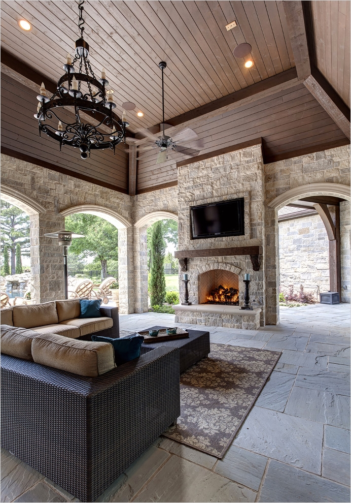 42 Cozy Small Outdoor Living Spaces 31 Outdoor Cool Best Outdoor Living Spaces Example A Tuscan Patio Design In Dallas with A Fire 3