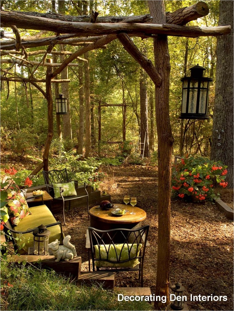 42 Cozy Small Outdoor Living Spaces 45 Inspiration & Tips for Decorating Outdoor Rooms 3