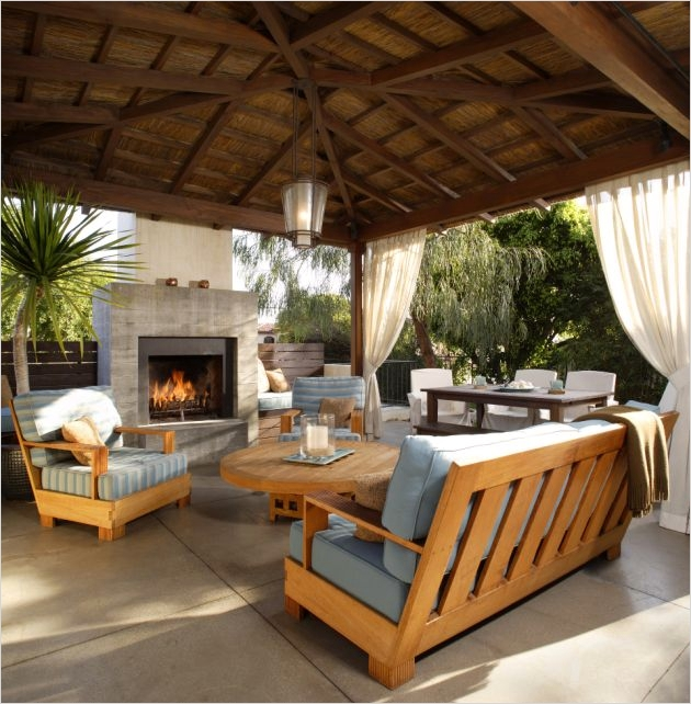 42 Cozy Small Outdoor Living Spaces 18 Outdoor Kitchens Outdoor Living Concepts Backyard Patios 1