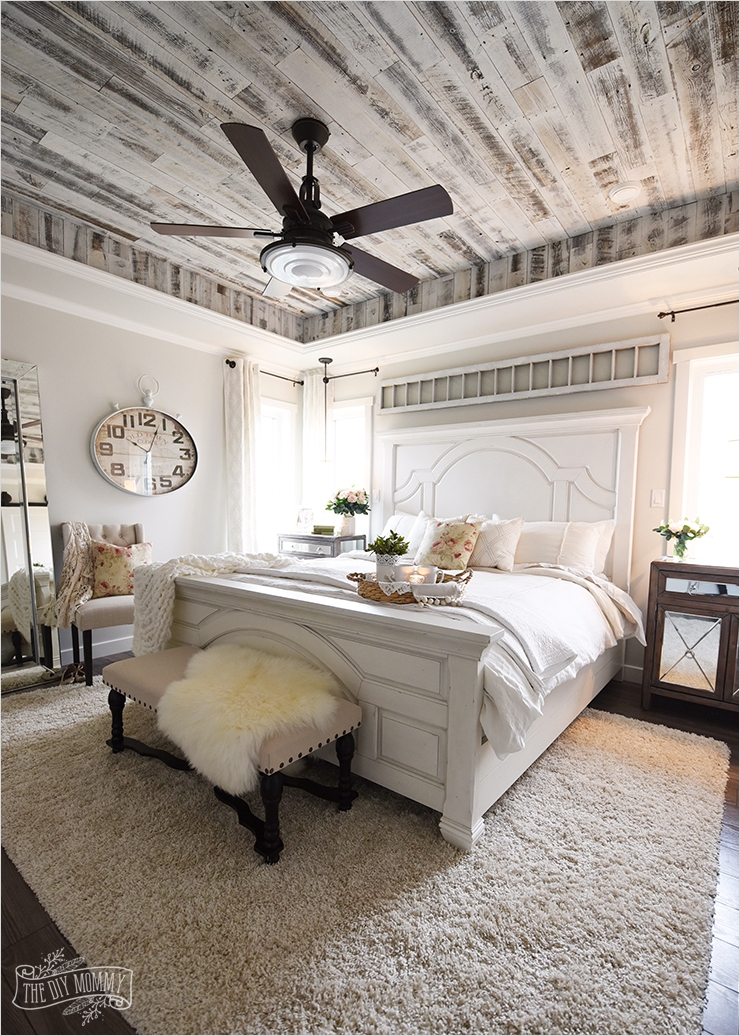 43 Stunning Country Farmhouse Bedroom Ideas 56 Our Modern French Country Master Bedroom – E Room Challenge Reveal 2