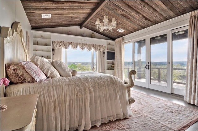 43 Stunning Country Farmhouse Bedroom Ideas 39 Romantic Hill Country Dream Farmhouse Bedroom Austin by Schmidt Custom Homes 5