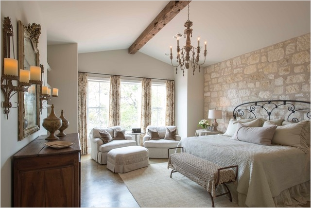 43 Stunning Country Farmhouse Bedroom Ideas 91 Hill Country French Country Farmhouse Bedroom Charlotte by Home Design & Decor Magazine 3