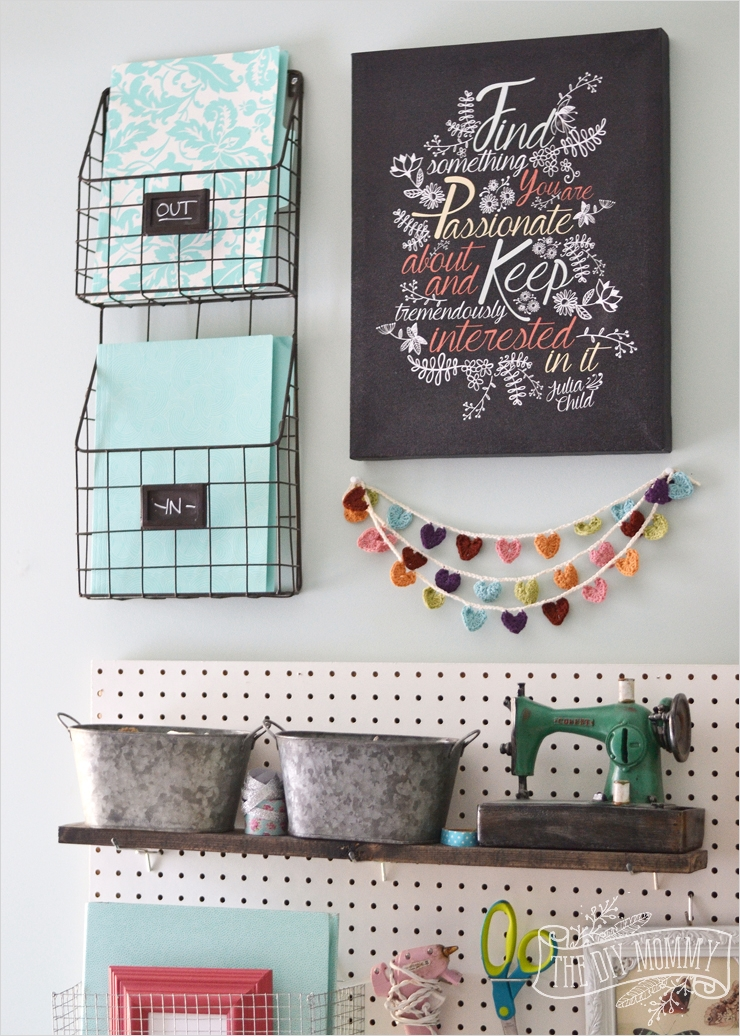 42 Amazing Diy Craft Room Gallery Wall 44 A Craft Room Fice Pegboard Gallery Wall with Video tour 2