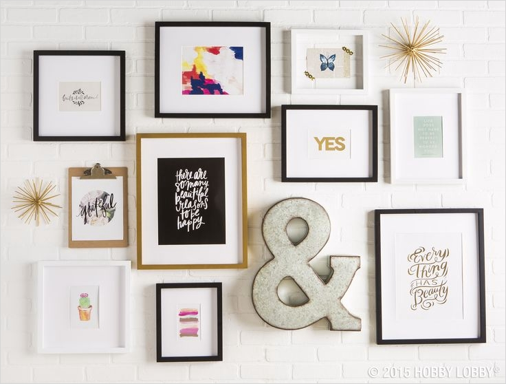 42 Amazing Diy Craft Room Gallery Wall 48 100 Best Images About Gallery Wall Ideas On Pinterest 1