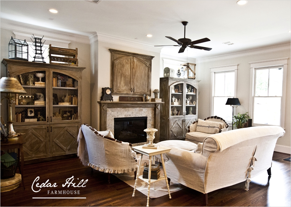 42 Cozy Country Farmhouse Living Room 76 Country French Farmhouse Style Home tour Debbiedoos 8