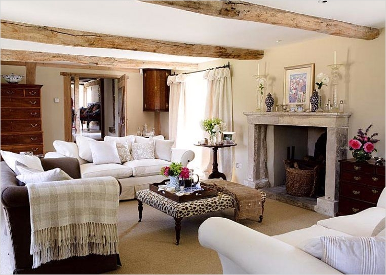 42 Cozy Country Farmhouse Living Room 13 Country Cool Décor Eclectic Country Style 5