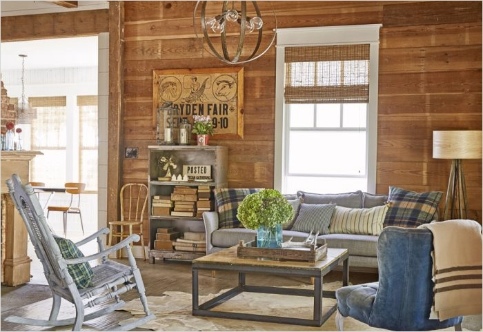 42 Cozy Country Farmhouse Living Room 79 Farmhouse Decor In 10 Stunningly Gorgeous Living Rooms 4