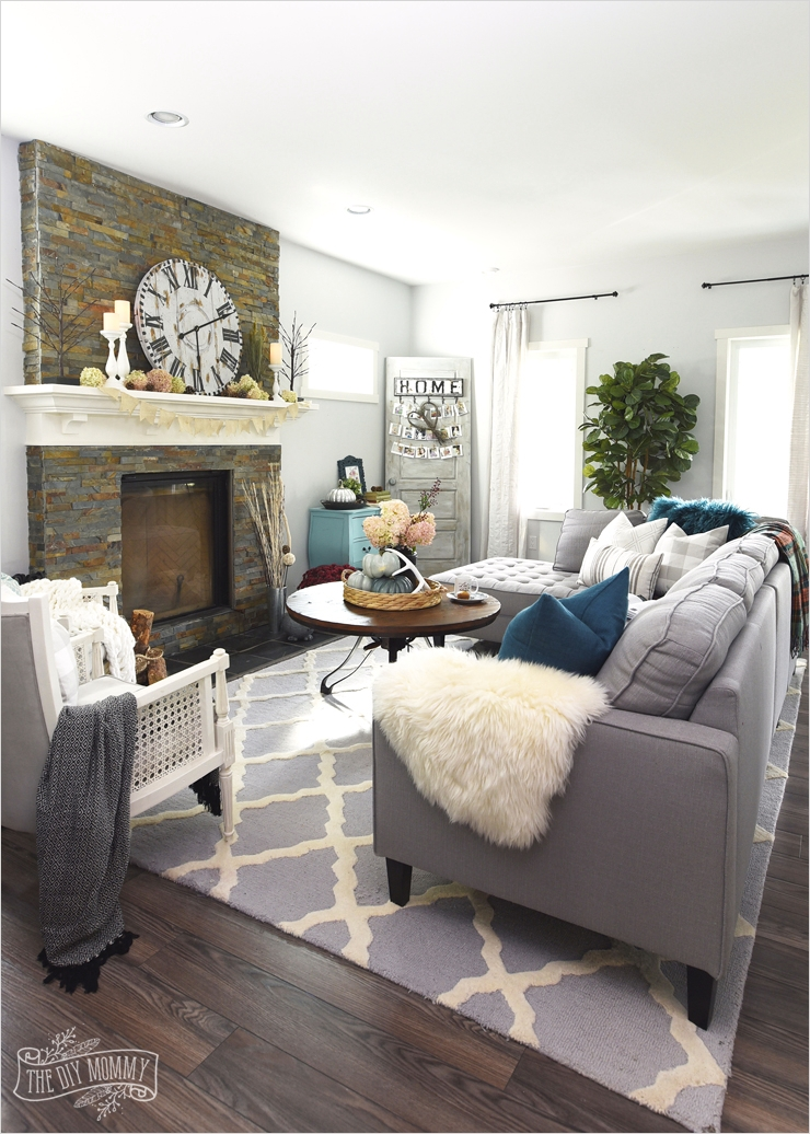 42 Cozy Country Farmhouse Living Room 52 My Home Style before and after Modern Boho Country Living Room 3
