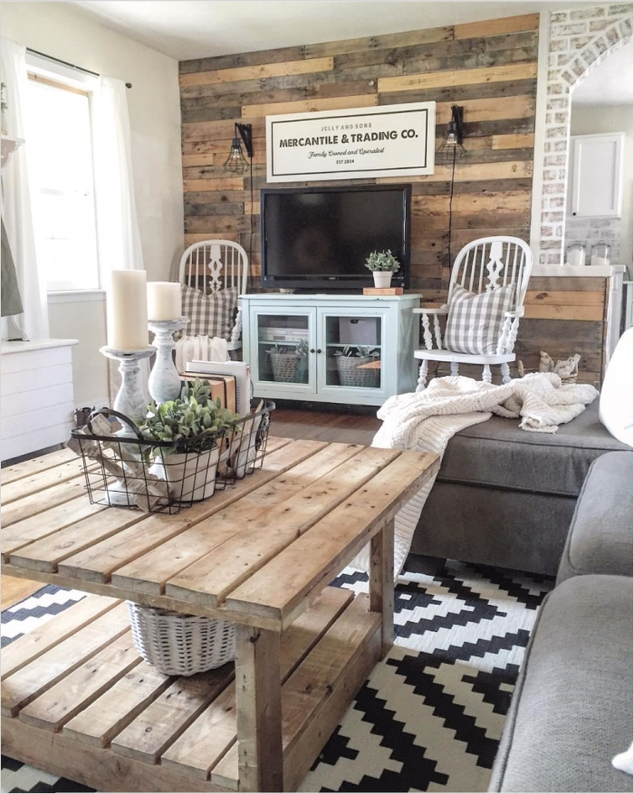 42 Cozy Country Farmhouse Living Room 12 Farmhouse Decor In 10 Stunningly Gorgeous Living Rooms 5