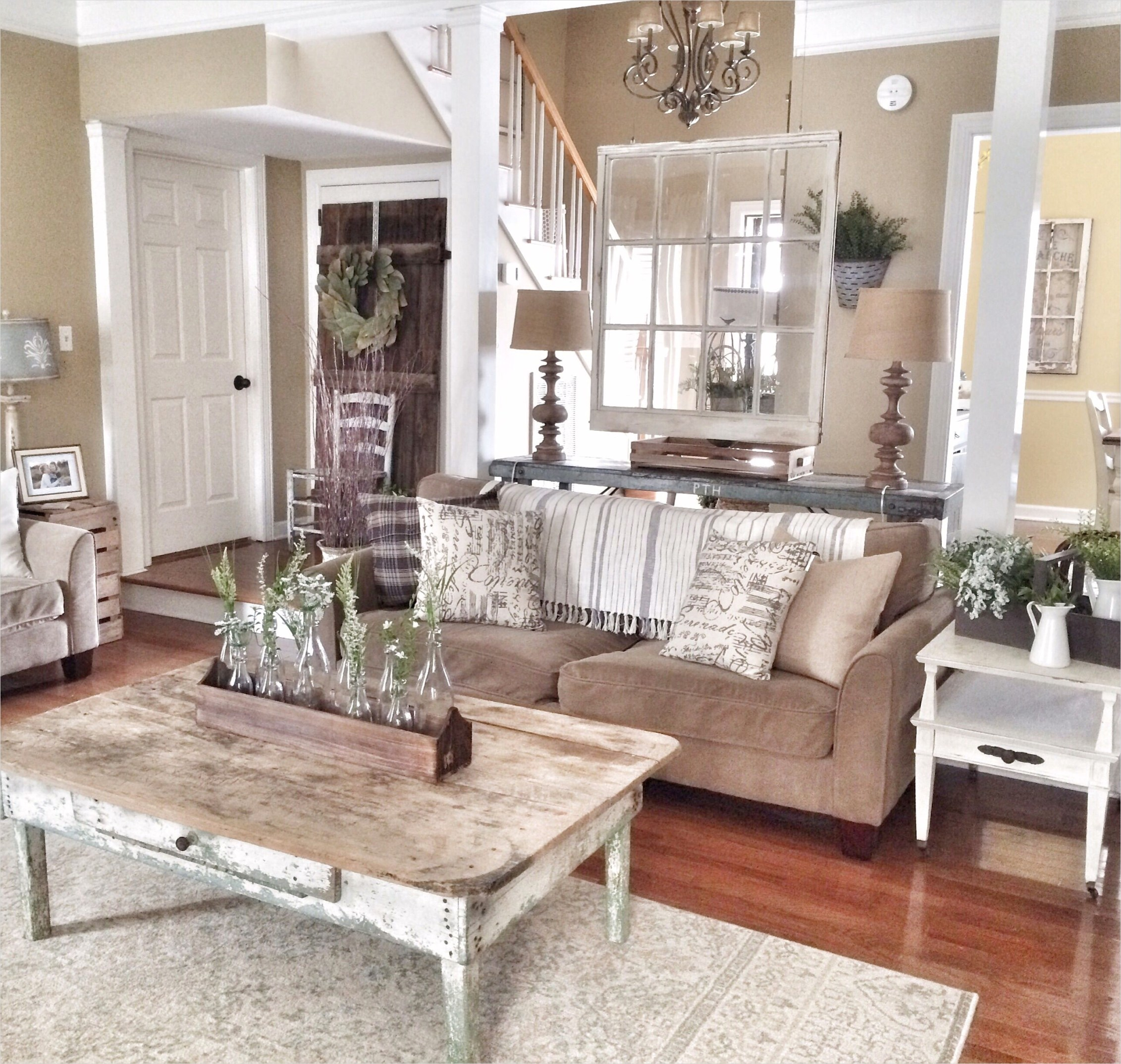42 Cozy Country Farmhouse Living Room 78 Rustic and Farmhouse Livingroom My Future House 8