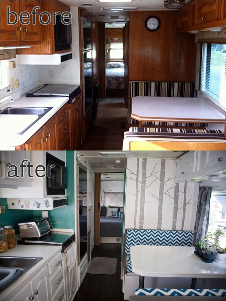 43 Perfect Rv and Camper Interior Ideas 39 1000 Ideas About Rv Decorating On Pinterest 4