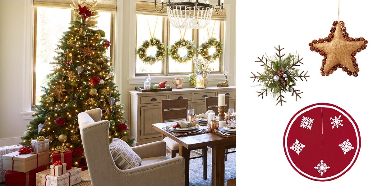 42 Stunning Country Christmas Centerpieces Ideas Ideas 51 Country Chic Christmas Decorating Ideas for the Home Overstock 3