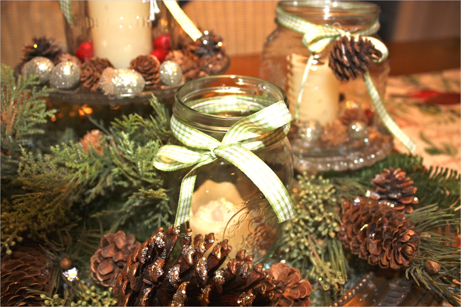42 Stunning Country Christmas Centerpieces Ideas Ideas 53 Lee S Hideaway A Country Winter Christmas Centerpiece 4