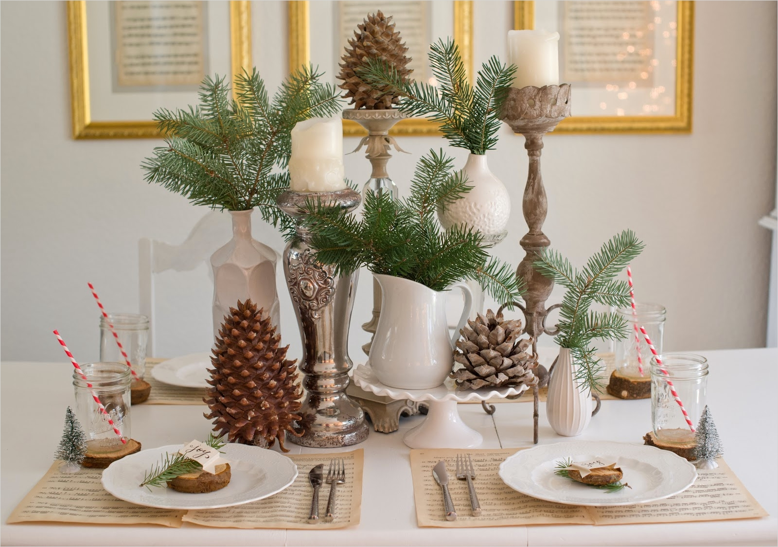 41 Adorable Christmas Table Centerpiece Ideas 2018 37