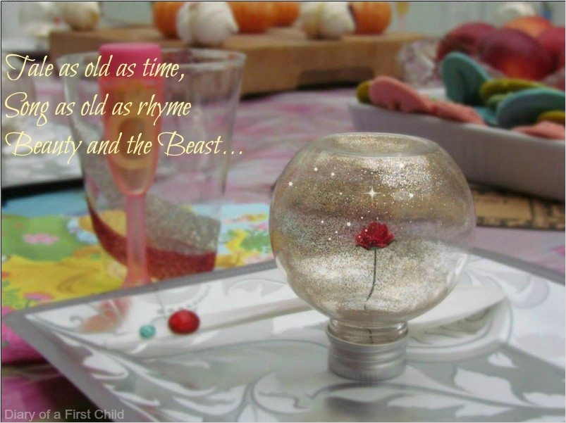 35 Beauty and the Beast Decorations Ideas 25