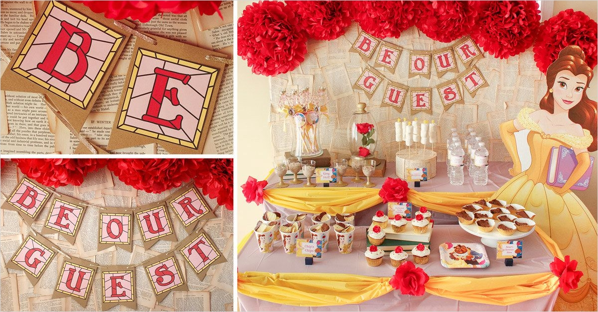35 Beauty and the Beast Decorations Ideas 38