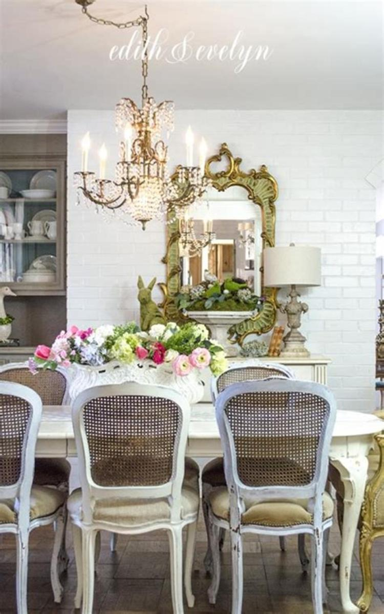 35 Stunning Spring Kitchen and Dining Room Decorating Ideas 2019 1