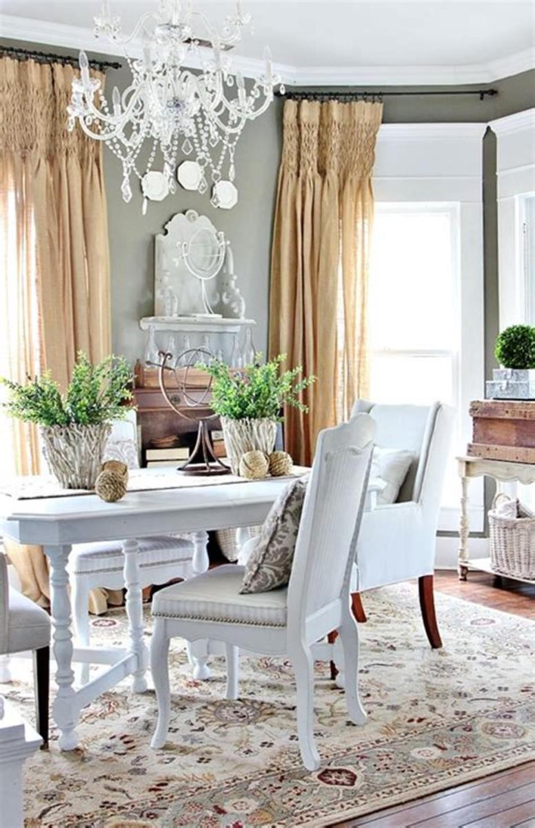 35 Stunning Spring Kitchen and Dining Room Decorating Ideas 2019 37