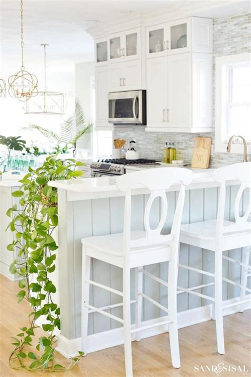 35 Stunning Spring Kitchen and Dining Room Decorating Ideas 2019 67