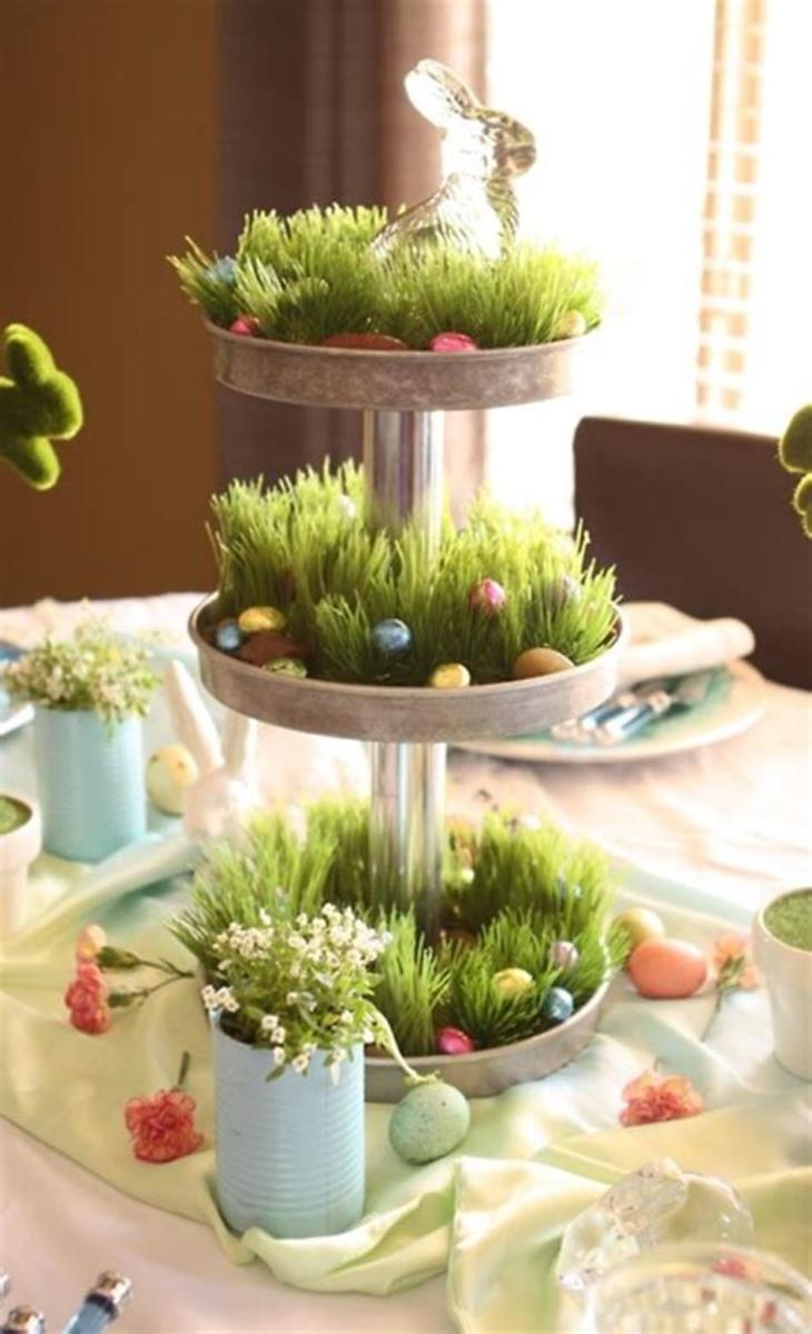 40 Beautiful DIY Easter Table Decorating Ideas for Spring 2019 70