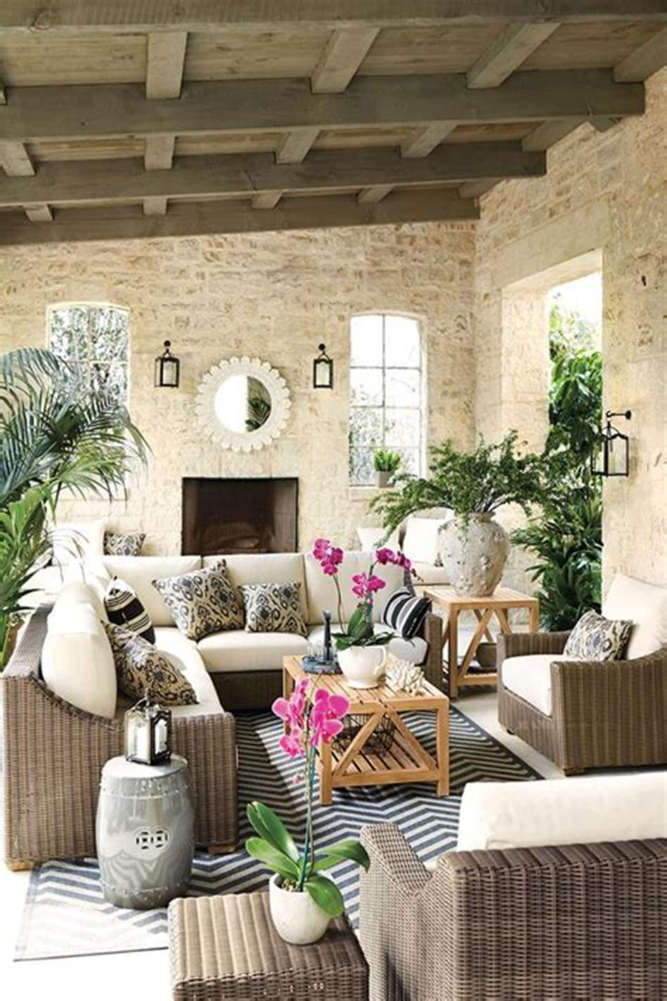 45 Perfect Rustic Porch Furniture Ideas for 2019 15