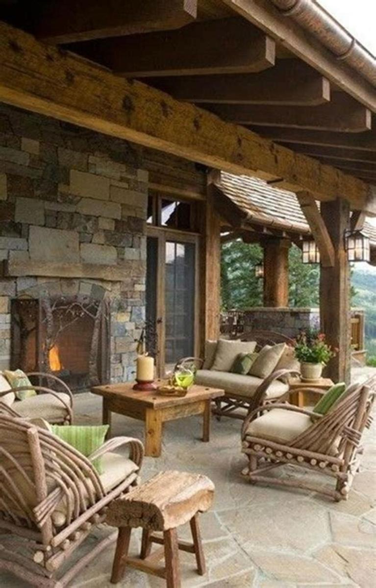 45 Perfect Rustic Porch Furniture Ideas for 2019 33