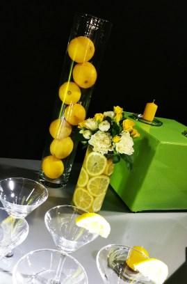 Thème jaune et vert