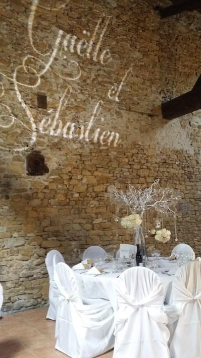 Décoration des tables invités
