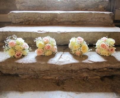 Petits bouquets de demoiselles d'honneur