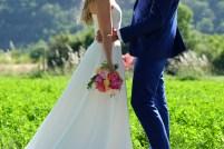 Bouquet de la mariée coloré