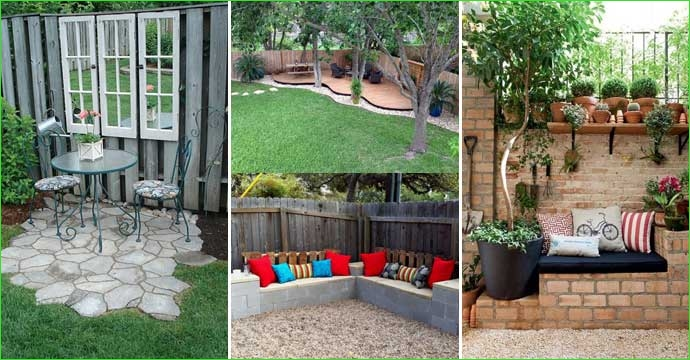 Creative Tiny Backyard Sitting areas 71 23 Easy to Make Ideas Building A Small Backyard Seating area – Homedesigninspired 5