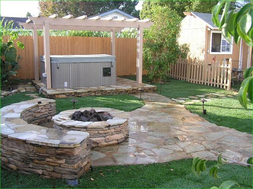 Creative Tiny Backyard Sitting areas 45 Unique Stone Table with Fireplace Pleting Outdoor Sitting Space Using Cool Backyard Ideas 6