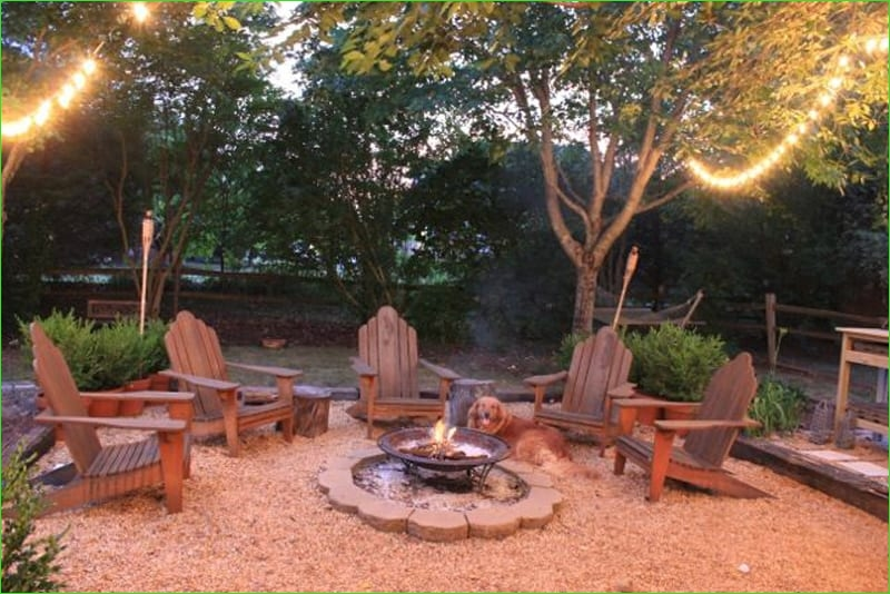 Creative Tiny Backyard Sitting areas 72 Best Outdoor Fire Pit Ideas to Have the Ultimate Backyard Away 4