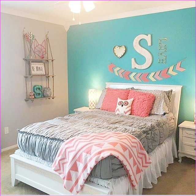 Cute Mix Color Bedrooms for Teenage Girls 58 Teal Girls Bedroom Ideas 8