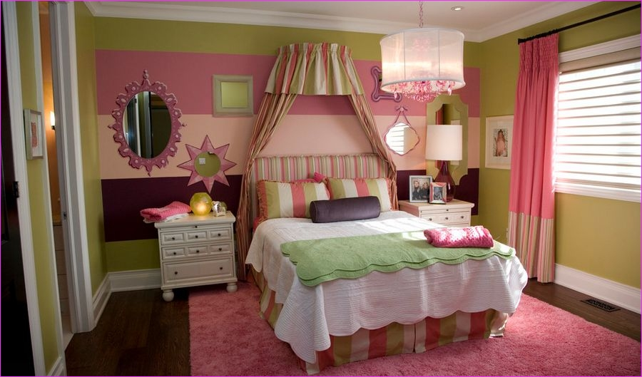 Cute Mix Color Bedrooms for Teenage Girls 44 Cute Bedroom Design Ideas for Kids and Playful Spirits 1