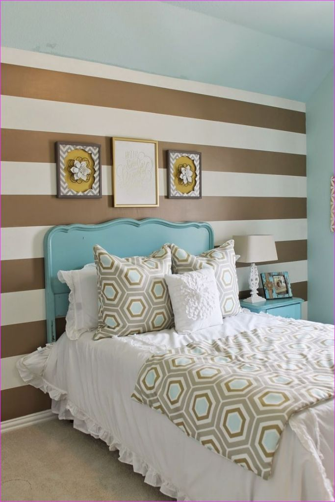 Cute Mix Color Bedrooms for Teenage Girls 81 Shabby Chic Meets Glam In This Cute Teens Room Gold and Turquoise Mixed with Gray and White 4