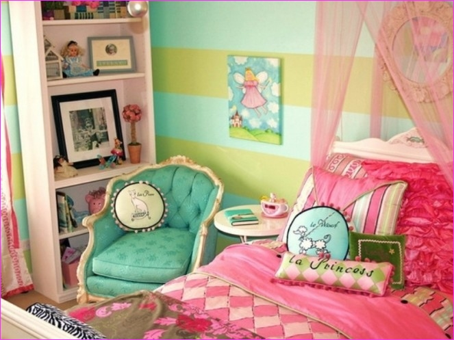 Cute Mix Color Bedrooms for Teenage Girls 66 Cute Pink Bedroom Ideas for toddler and Teenage Girls – Vizmini 4