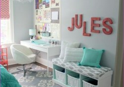 Cute Mix Color Bedrooms for Teenage Girls 75 50 Stunning Ideas for A Teen Girl's Bedroom for 2019 9