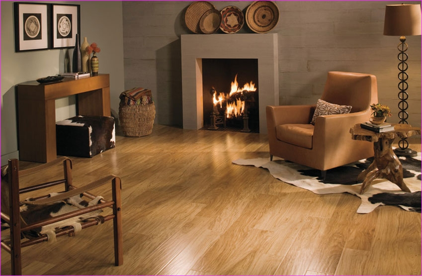 Living Room with Hickory Flooring 82 Laminate Flooring is the Ultimate In Home Decor 6
