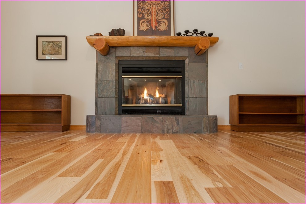 Living Room with Hickory Flooring 22 Staggering Hickory Hardwood Flooring Decorating Ideas 9