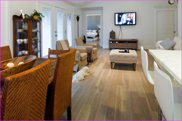 Living Room with Hickory Flooring 94 Beach House Contemporary Living Room Ottawa by Gaylord Hardwood Flooring 1